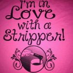 Stripped waxing - stripper t-shirt